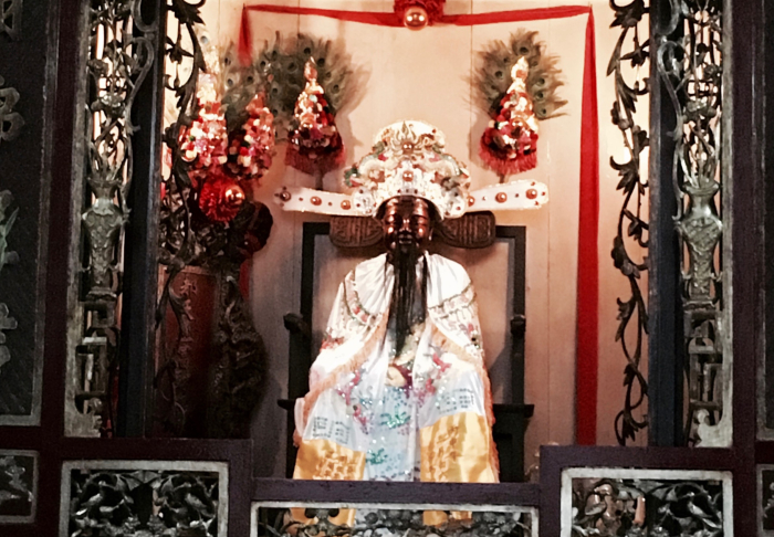 Chua Ba Thien Hau Place - One of the Many Famus Chinese Gods that is worshipped in Chua Ba Thien Hau, Ho Chi Minh