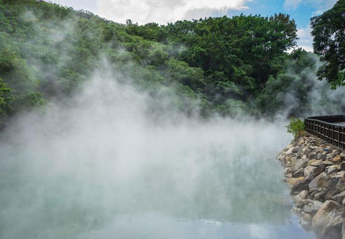 Beitou Hot Springs in Beitou Hot Springs, Taipei