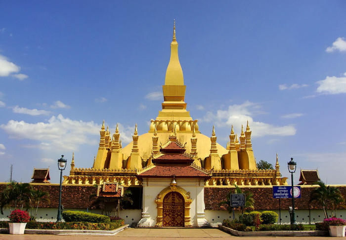 The Great Stupa in The Great Stupa, Vientiane