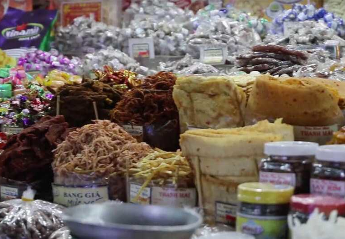 Ben Thanh Market in Ben Thanh Market, Ho Chi Minh