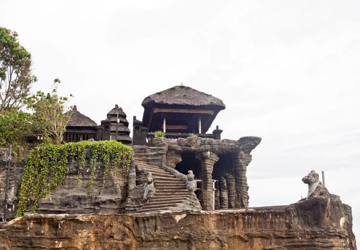 Tanah Lot Temple in Tanah Lot Temple, Bali