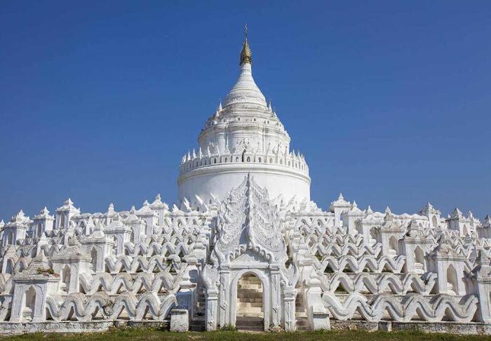 Mingun Temple in Mingun Temple, Mandalay