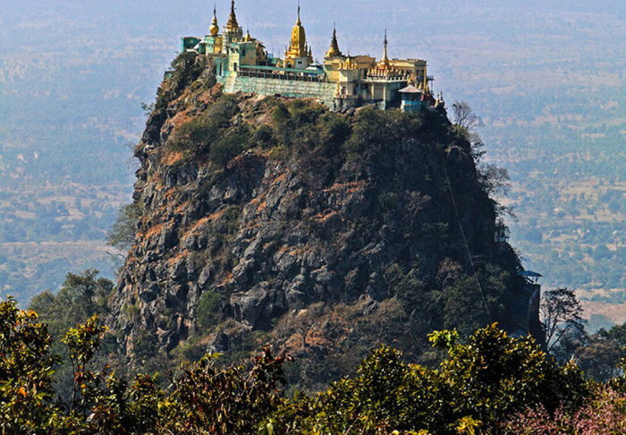 Mount Popa in Mount Popa, Bagan