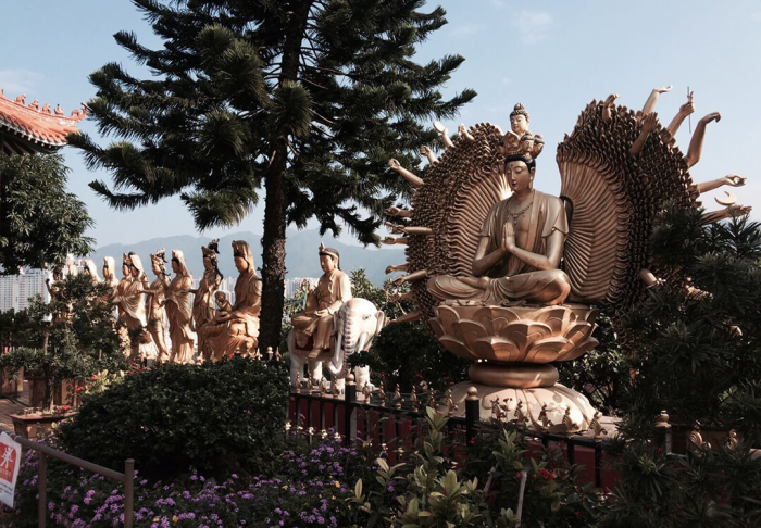 Ten Thousand Buddhas Monastery in Ten Thousand Buddhas Monastery, Hong Kong