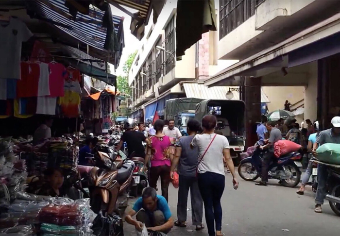 Dong Xuan Market in Dong Xuan Market, Hanoi