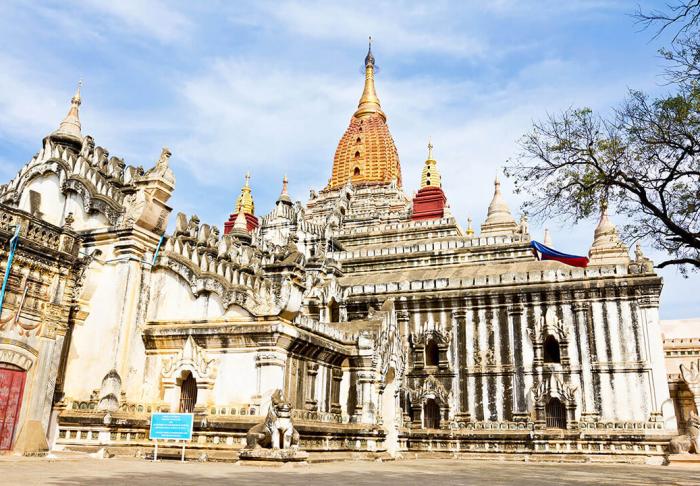 Ananda Temple in Ananda Temple, Bagan