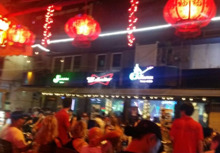 Bui Vien Street - Dusk till dawn.. they are never closed in Bui Vien and Pham Ngu Lao, Ho Chi Minh