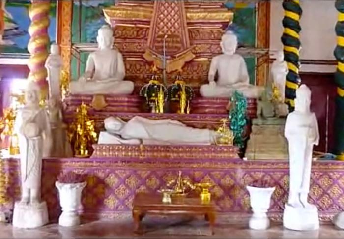 Wat Krom Temple in Wat Krom Temple, Sihanoukville