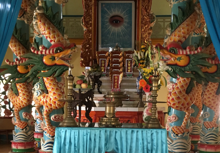 Cao Dai Temple - Beliefs and  Myths in Cao Dai Temple, Ho Chi Minh