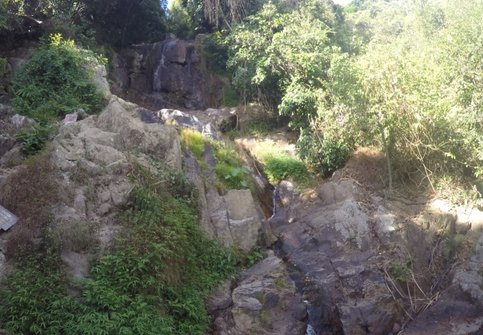 Na Muang Waterfalls - Where the river starts to flow.. in Mummified Monks, Koh Samui