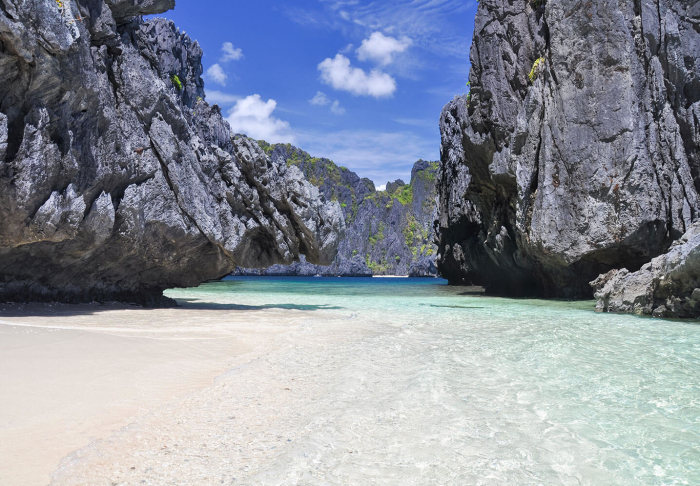 The Big, the Small, and the Secret Lagoon in The Big, the Small, and the Secret Lagoon, El Nido and Palawan