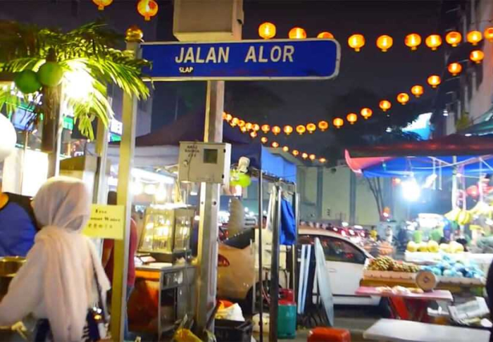 Jalan Alor in Jalan Alor, Kuala Lumpur