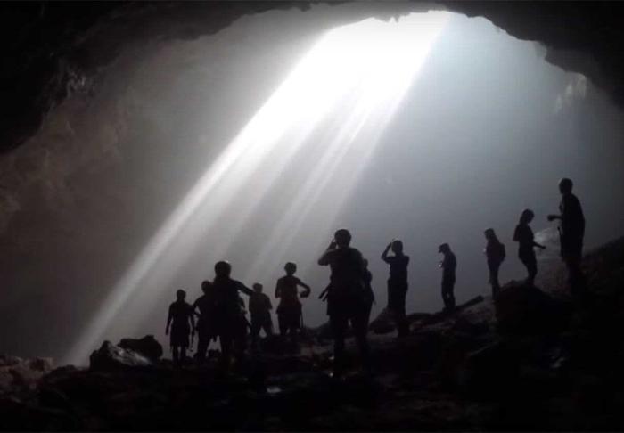 Jomblang Cave in Jomblang Cave, Yogyakarta