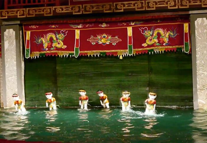 Hanoi's Water Puppet Theatre in Hanoi's Water Puppet Theatre , Hanoi