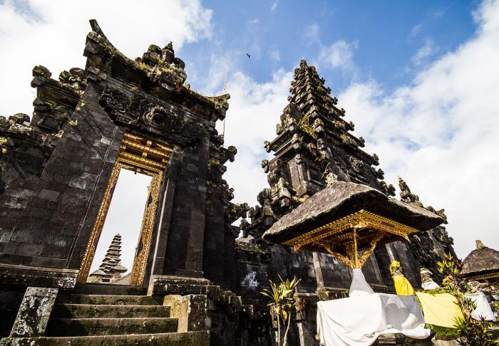 Besakih Temple in Besakih Temple, Bali
