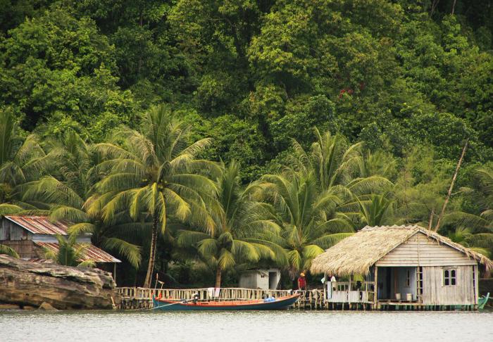 Raem National Park in Raem National Park, Sihanoukville