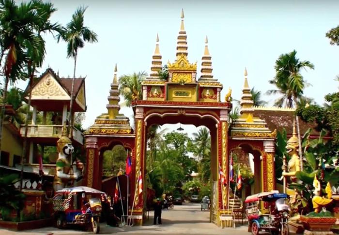 Wat Si Muan in Wat Si Muan, Vientiane
