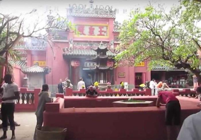 Jade Emperor Pagoda in Jade Emperor Pagoda, Ho Chi Minh