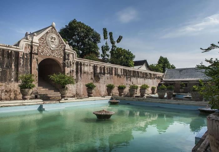 Tamansari Water Castle in Tamansari Water Castle, Yogyakarta