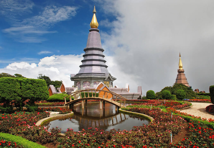 Doi Inthanon National Park in Doi Inthanon National Park, Chiang Mai