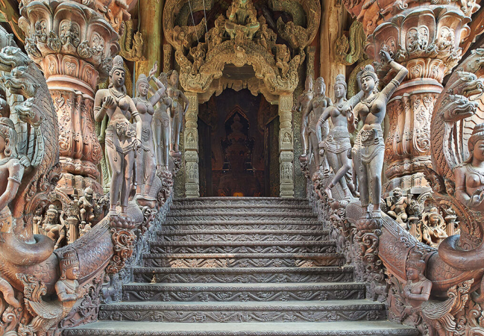 Sanctuary of Truth in Sanctuary of Truth, Pattaya