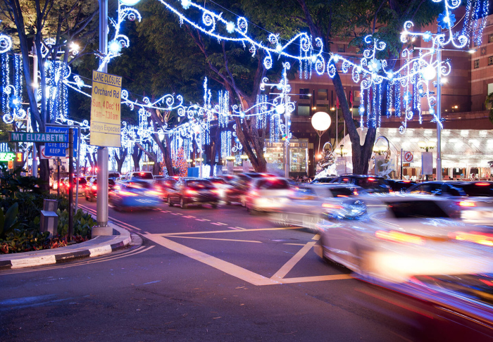 Orchard Road in Orchard Road, Singapore