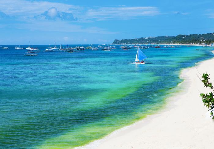 White Beach in White Beach, Boracay