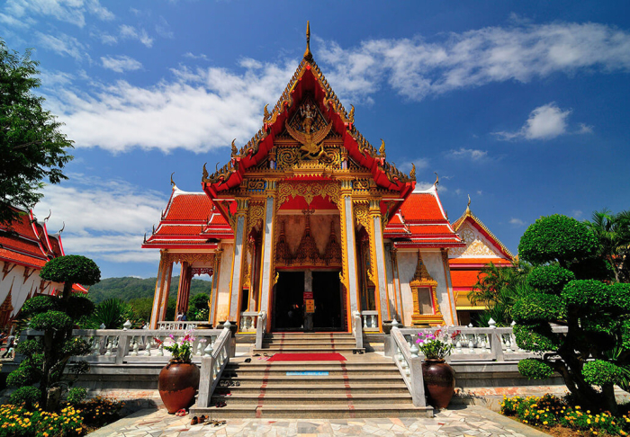 Wat Chalong in Wat Chalong, Phuket