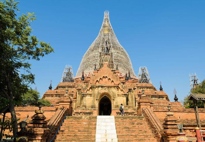Dhammayazika Pagoda in Dhammayazika Pagoda, Bagan