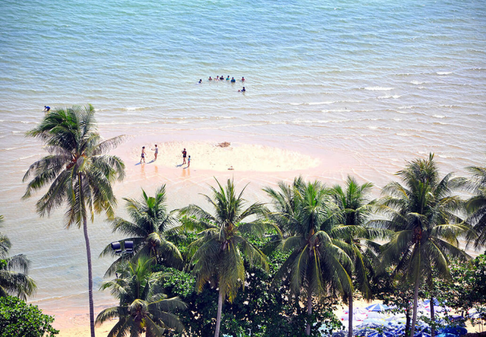 Jomtien Beach in Jomtien Beach, Pattaya
