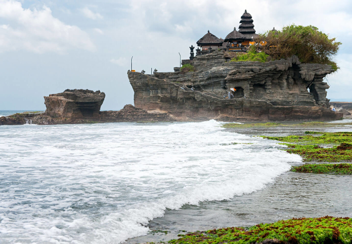 Tanah Lot Temple in Tanah Lot Temple, Bali