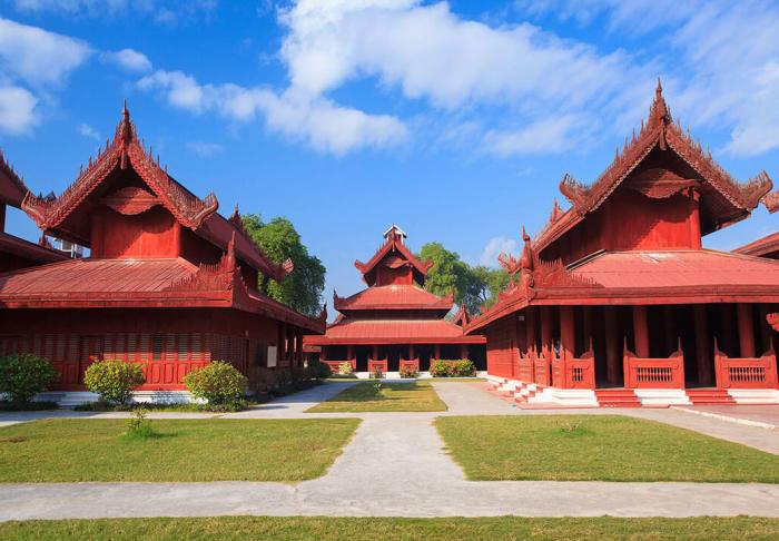 3 in Mandalay Palace, Mandalay