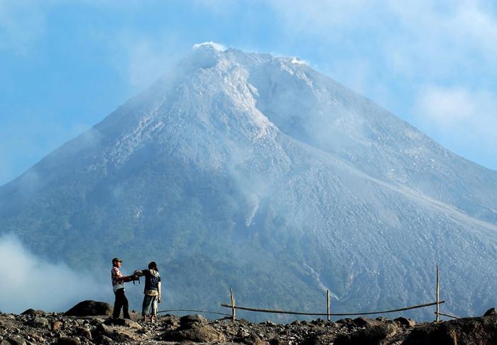 Merapi Volcano in Merapi Volcano, Yogyakarta
