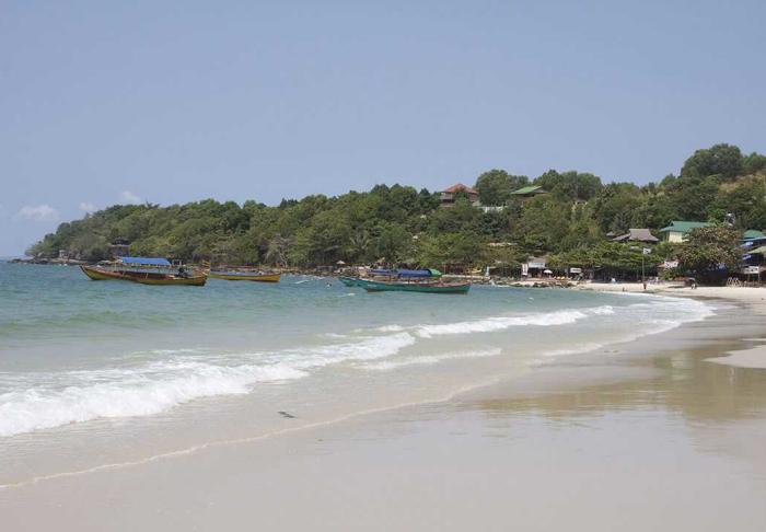 Independence Beach in Independence Beach, Sihanoukville