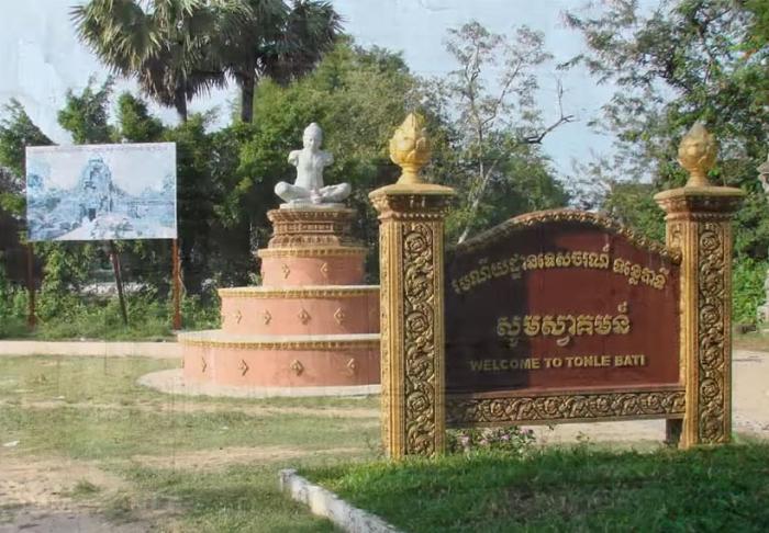 Ta Prohm in Tonle Bati in Ta Prohm in Tonle Bati, Phnom Phen