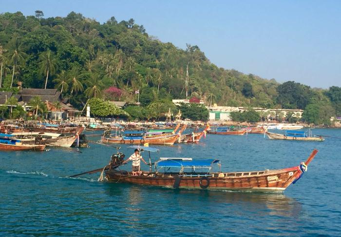 in Phi Phi Islands , Krabi