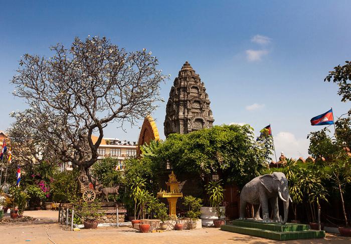 Wat Ounalom in Wat Ounalom, Phnom Phen