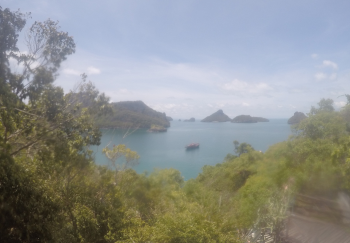 The view is breathtaking - The National Park Ang Thong in Ang Thong National Marine Park, Koh Samui