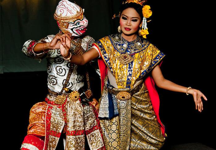 Apsaras Dance in Apsaras Dance, Siem Reap