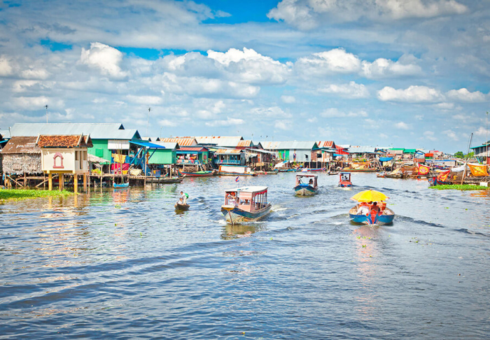 Tonle Sap Lake in Tonle Sap Lake, Siem Reap