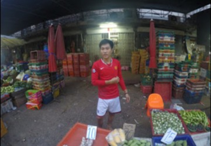 Khlong Toei Market - Cheap fresh veggies in Khlong Toey Market, Bangkok