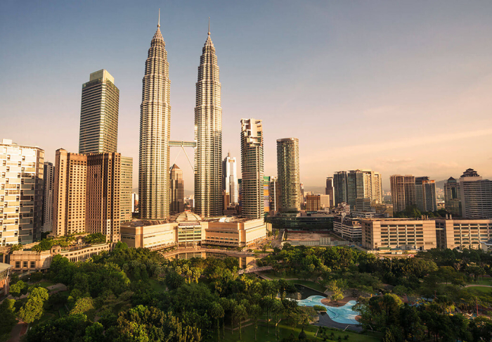 Petronas Twin Towers and KLCC in Petronas Twin Towers and KLCC, Kuala Lumpur
