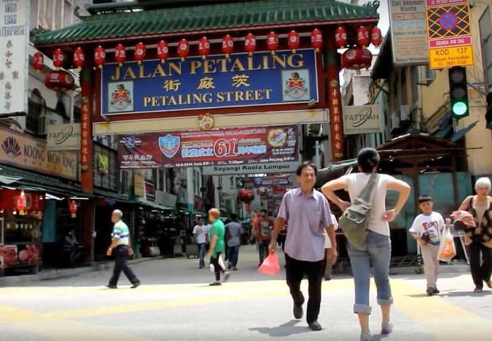 Kuala Lumpur's Chinatown in Kuala Lumpur's Chinatown, Kuala Lumpur
