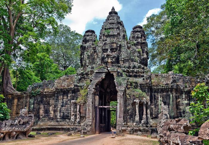 Angkor Wat in Angkor Wat, Siem Reap