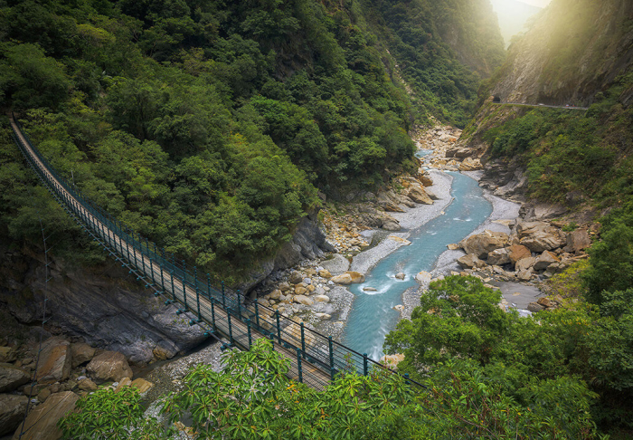 Taroko National Park in Taroko National Park, Taipei