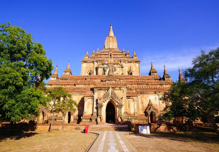 Sulamani Temple in Sulamani Temple, Bagan