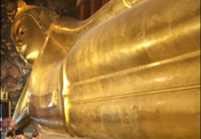 Bangkok - Wat Pho /  The Sleeping Buddha Statue  in Grand Palace & Wat Phra Kaew, Bangkok
