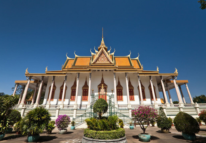The Royal Palace in The Royal Palace, Phnom Phen