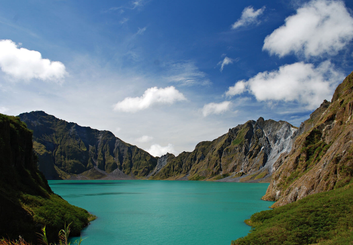 Mount Pinatubo in Mount Pinatubo, Manila