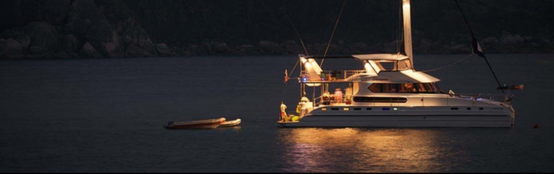 Overnight Luxury Catamaran Charter Tour